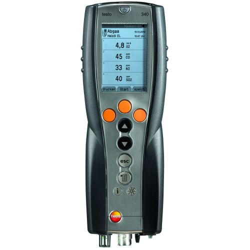 testo 350 software easyEmission CAN