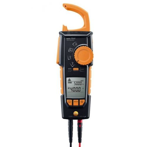 testo 770-2 Cable-grab Clamp meter