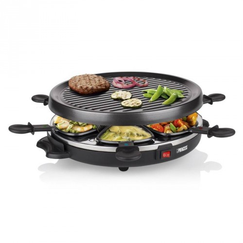 Raclette 6 Grill Party 6 pans - Grill plate (Ø 30 cm)