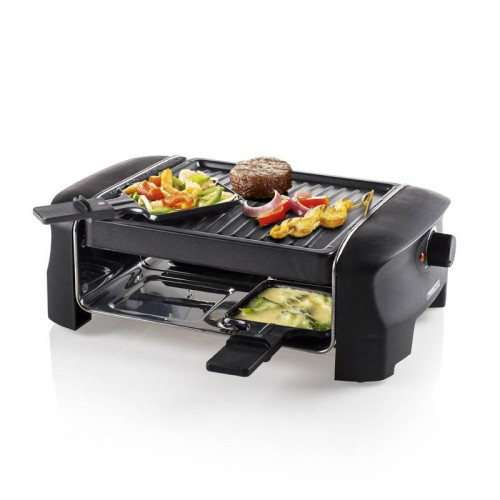 Raclette 4 Grill Party 4 pans - Grill plate (21 x 21 cm)
