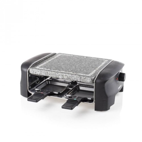Raclette 4 Stone Grill Party 4 pans - Stone grill (21 x 21 cm)