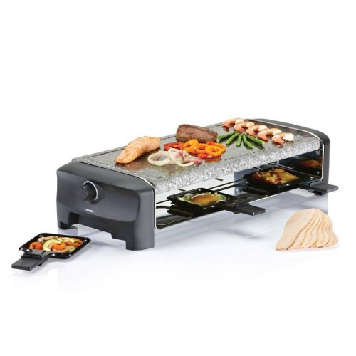 Raclette 8 Stone Grill Party 8 pans - Stone grill