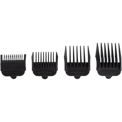 Hair trimmer 4 Comb attachments - Adjustable cutting blades