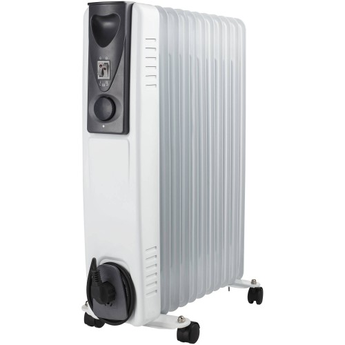 Electric heater (Oil filled radiator) 11 fins - 3 Adjustable settings