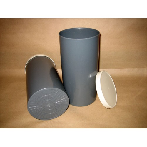 "4"" x 8"" Test Cylinder with Lid (box of 36)"