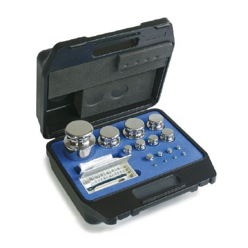 E2 1 mg -  50 g Set of weights in plastic case, Stainless steel - Brand Kern Ref 313-024