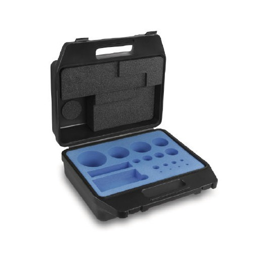 Plastic carrying case until 500g for standard weight set (E2) - Brand Kern Ref 313-052-400