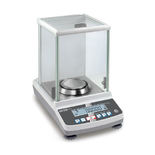 Analytical balance with type approval, class I 0,0001 g - 320 g - Brand Kern Ref ABJ 320-4NM