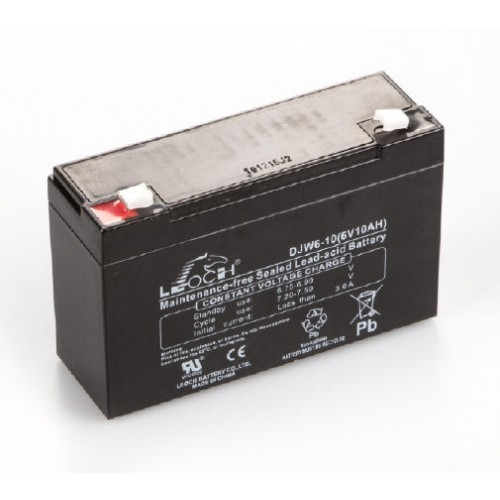 Rechargeable battery pack  (Pb, 6 V, 10 Ah)   - Brand Kern Ref HFM-A01