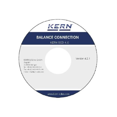 Software Balance Connection 4 for KERN balances, on DVD - Brand Kern Ref SCD-4.0