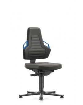 Nexxit on glides, seat height handles 450-600 mm, black Upholstery Supertec, Ref: 9030-SP01