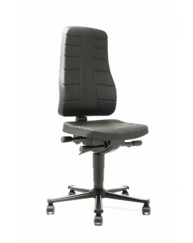 All-In-One Highline on castors, seat height of 450-600 mm, integral foam Upholstery, Ref: 9643