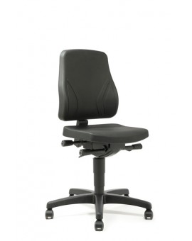 All-In-One Trend on castors, seat height of 450-600 mm, upholstery Artificial leather, Ref: 9633