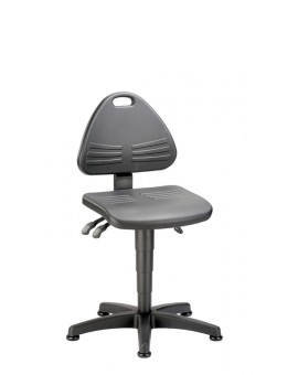 Isitec on glides, seat height of 430-600 mm, upholstery of integral foam, Ref: 9603