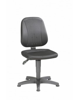 Unitec on glides, seat height of 440-620 mm, upholstery fabric, Ref: 9650