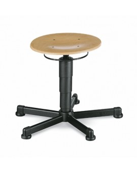 Stool glides, seat height of 460-630 mm, beech plywood, Ref: 9467