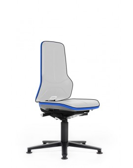 ESD Neon on glides, seat height of 450-620 mm, without Upholstery, Ref: 9560E