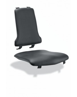ESD glides curved Artificial leather, Ref: 9876E