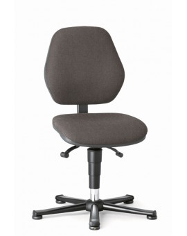 Basic ESD on glides, seat height of 470-610 mm, upholstery fabric, Ref: 9150e