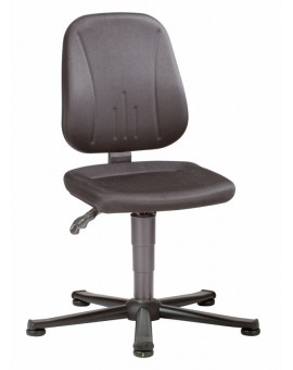 ESD Unitec on glides, seat height of 440-590 mm, upholstery fabric, Ref: 9650E