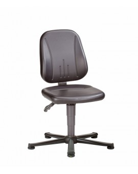 ESD Unitec on glides, seat height of 440-590 mm, upholstery Artificial leather, Ref: 9650E