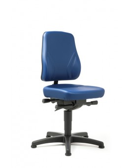 All-In-One Trend on glides, seat height of 450-600 mm, upholstery Artificial leather, Ref: 9630