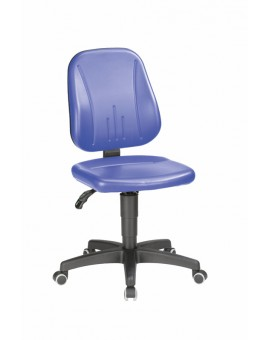 Unitec on castors, seat height of 440-620 mm, upholstery Artificial leather, Ref: 9653
