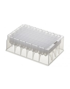 PurePlus® 1.2 mL 96 Well Deep Well Plates with Square Wells and Registration Corners, Sterile, 3908-525-000-9