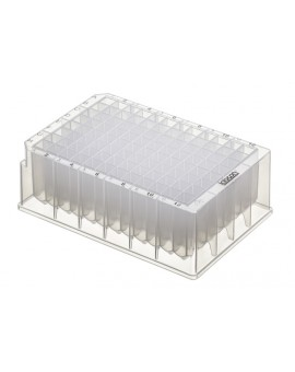 PurePlus® 2.2 mL 96 Well Deep Well Plates with Square Wells and Registration Corners, Sterile, 3909-525-000-9