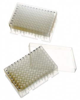 PurePlus® 1.2 mL Sample Library Tubes, In Strips of 12, in 96 Racks, Sterile, 3912-545-000-9