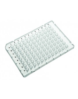 PurePlus® 0.1 mL 96 Well PCR Plates with Half Skirt for ABI® Fast Thermocyclers, 3961-520-000-9