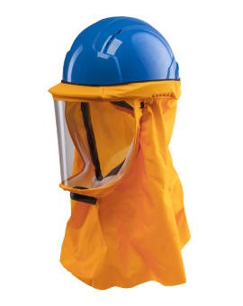 Safety helmet CA-4 PLUS with breathing system (long hood)