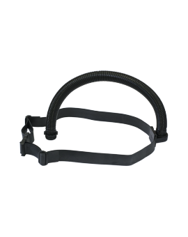 Rubber belt with hose and unit keeper for CleanAIR