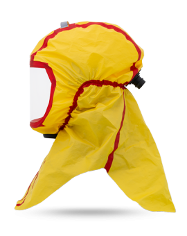 Long protective hood CA-10, chemically resistant
