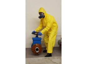 Chemical Protection coverall