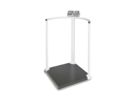 Weighing scales with restraint bar KERN